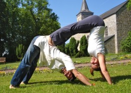 Asaf Hacmon and Galit Hahn from Yoga food and nature retreats