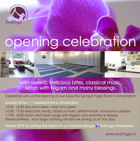 opening party yoga studio