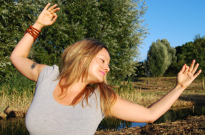 Marlene Smits teaches at liveYoga Amsterdam