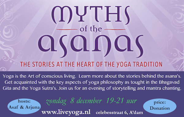 MYTHS LIVE YOGA Amsterdam Invite
