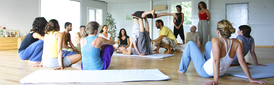 Acro Yoga with Dieke at Live Yoga Amsterdam