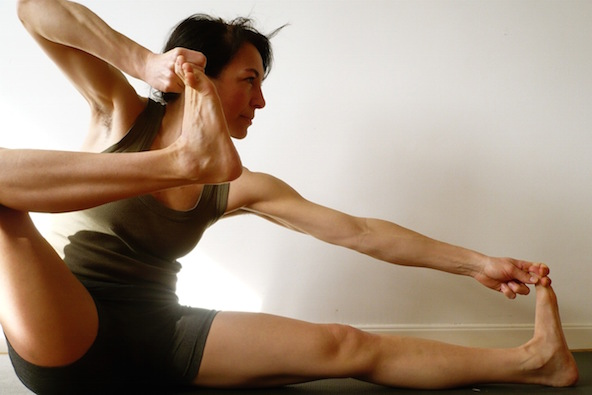 Patrizia Semperboni teaches at LiveYoga Amsterdam