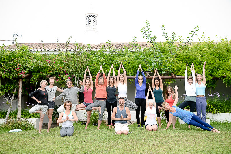 Asaf hachmon teaches yoga retreat Algarve, portugal
