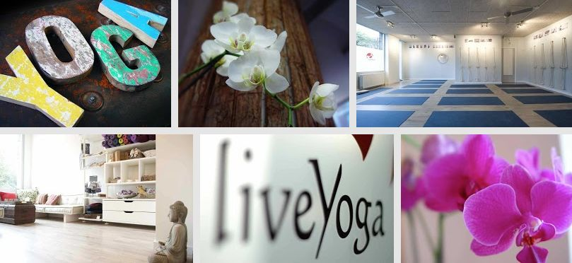 LiveYoga Amsterdam Collage