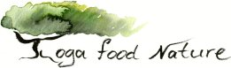 Yoga, Food and Nature logo
