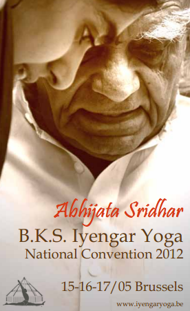 Abhijata Sridhar and Iyengar