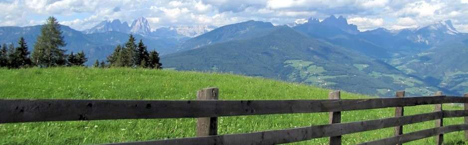 Apennines mountain meadow in Italy