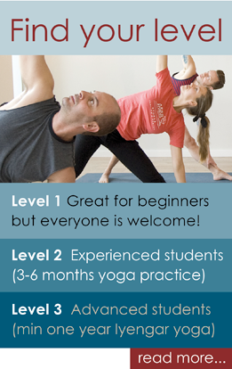 find your level of practice