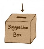 suggestion box