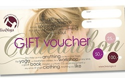 liveYoga gift cards
