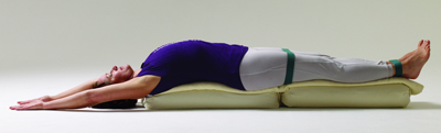 viparita dandasana – yoga for fatigue relief