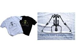 Iyengar prasarita t-shirt