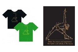 Iyengar Trikonasana T-shirt