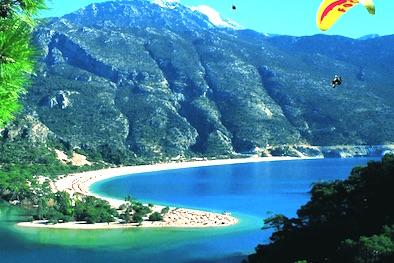 Turkey beach in hidden bay