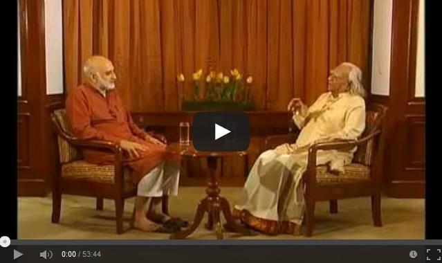 Yoga Master BKS Iyengar & Rajiv Mehrotra