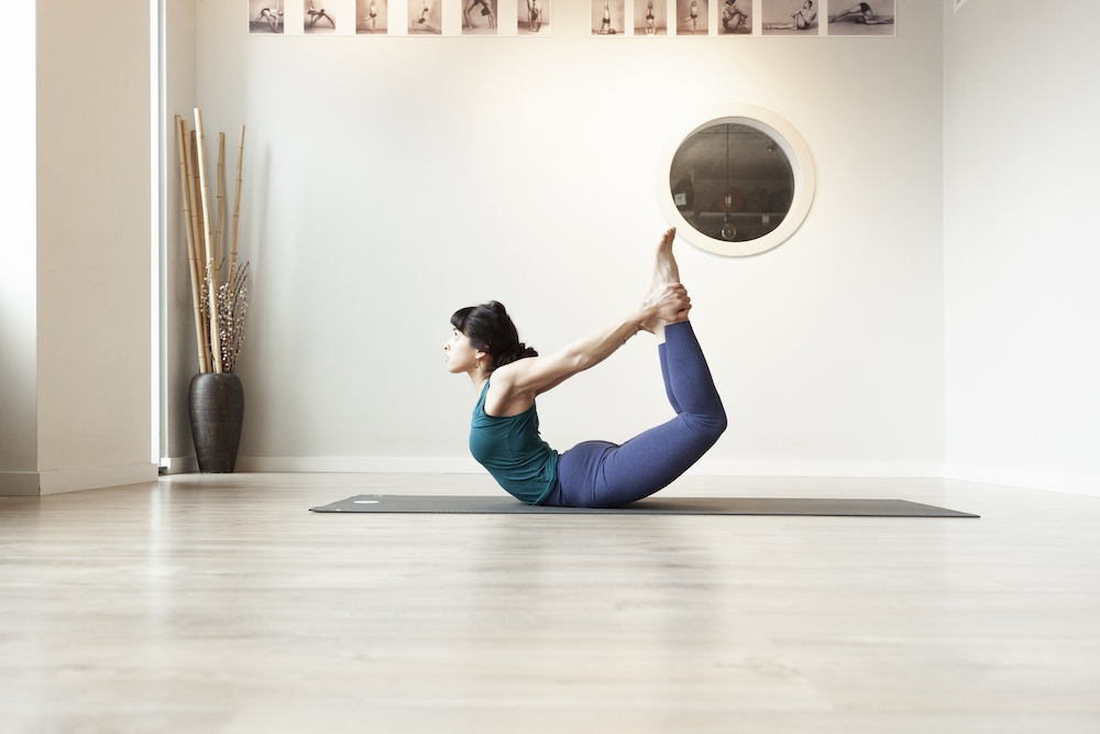 poses de yoga de uno